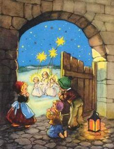 Retro Christmas, Xmas, Christmas Tree, Christmas Glitter, Santa Socks, Hallmark Cards, Vintage Ephemera, Wonderful Time, Greeting Cards