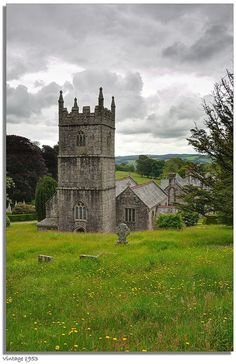 The church of St. Hydroc - Lanhydrock | Cornwall.  Is this where the first doctor who homoreptilian episodes were filmed???!!!