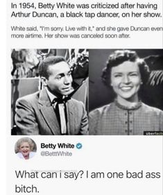 Betty White, Faith In Humanity Restored, Stupid Funny Memes, Hilarious Jokes, History Facts, Tumblr Funny, Really Funny, Good People, Fun Facts