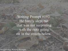 writing prompt   PROMPTUARIUM