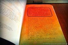 Wreck this journal Warning page, #ideas #inspiration