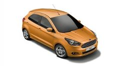 Ford KA+ in Sparkling Gold colour