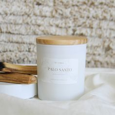 Our Palo Santo candle can be used as a ritual smudging that will welcome creativity, love, and good fortune into your space. The candle can help brighten energy and promote feelings of positivity and joy. The scent is also shown to reduce stress and anxiety, and enhance clarity and concentration. Homemade Soy Candles, Scented Candles, Handmade Candles, Sweet Notes, Reduce Stress, Health And Wellbeing, Stress And Anxiety, Smudging, Clarity