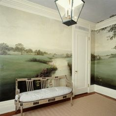 Landscape Mural - if anyone knows who painted this, please add!