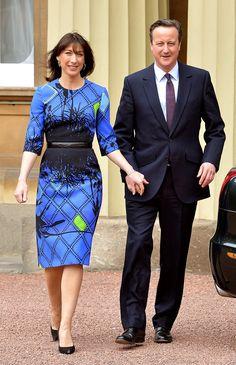 Nº 1 é... Samantha Cameron, a mulher do primeiro ministro da Inglaterra. Alguns podem achar o estilo dela muito conservador, mas essa estampa da Preen na foto, por exemplo, parece bem moderna, não? Não chega a ser uma Michelle Obama pra moda inglesa, mas ela tem todo um perfil fashionista