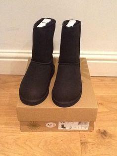 black ugg boots ladies