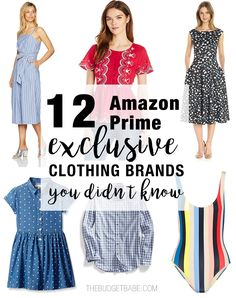 Amazon.com is trying to take over the fashion biz with these 12 in-house clothing brands.