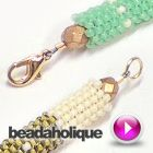 Best Seed Bead Jewelry 2017 How to End a Tubular Stitch Seed Bead Crafts, Seed Bead Jewelry, Jewelry Findings, Beaded Jewelry, Handmade Jewelry, Beading Techniques, Beading Tutorials, Beading Patterns, Diy Jewelry Inspiration