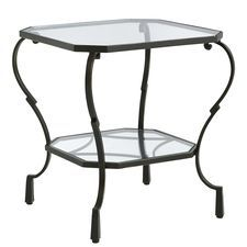Chasca Square End Table