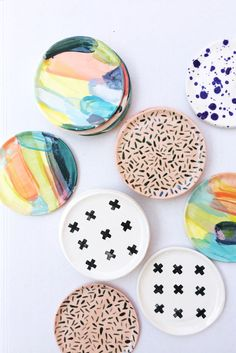 These ring dishes are begging for something fun to hold.