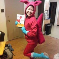 Fox in socks! In honor of Dr. Seuss