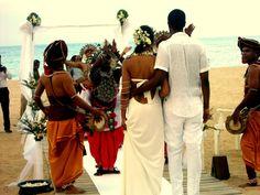 Buddhist wedding at Malu-Malu.