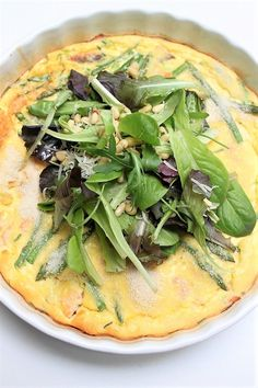 Frittata, Lunch Restaurants, Fajitas, Vegetable Pizza, Brunch, Buffet, Cabbage, Good Food, Food And Drink