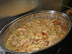 Pork Recipes Filet Pot with Championgs Hamburger Meat Recipes, Sausage Recipes, Pork Recipes, Casserole Recipes, Vegetarian Recipes, Healthy Eating Tips, Healthy Nutrition, Ramen, Sandwiches