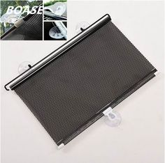 New Rollback Window Sun Shade Screen Cover Sunshade Protector Car Auto Truck Left Right Side Windshield