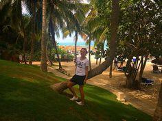 #vacation #hotel #melia #las #americas #paradise #holiday #travel #instatravel #wanderlust #nature #naturaleza #cubana #cuba #varadero #beach #hotel #resort #summer #sun #ocean #tanning #october #beautiful #sea #happy #photo #palms by dxnizk