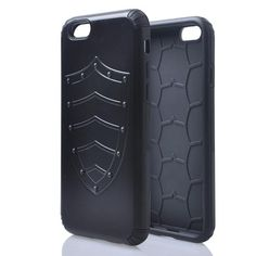 Sale 14% (3.35$) - Hybrid TPU PC Shield Armor Protector Hard Cases For iPhone 6
