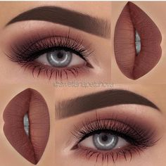 Autumnal makeup look                                                                                                                                                                                 More