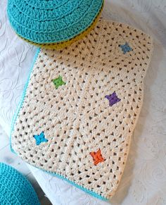 Granny's  Afghan Blanket-Cotton by lacasadecoto on Etsy