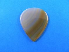 Brazilian agate Stone guitar pick  P609 by HawkeyePicks on Etsy