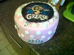 Grease cake for my grease themed party