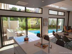 Petite terrasse et petite piscine bois