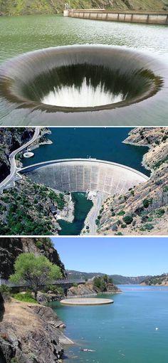 Glory Hole, Monticello Dam (California – US)