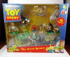 Toy Story - The Great Escape - Toy Figure Set - Disney - Baby Face - Duckie