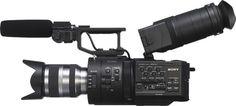 New Sony NEX-FS700 cinema Camera!