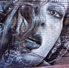 Adnate portrait, Mayo background in Melbourne (LP)