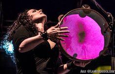 Francesca Di Ieso  CantoAntico Live  Carroponte, Milano  Drumming al femminile