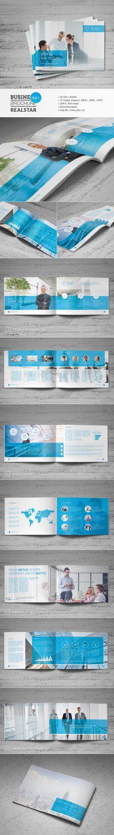 Business Brochure Vol.1 by Realstar, via Behance