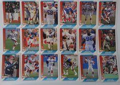 1991 Pacific Buffalo Bills Team Set of 18 Football Cards #BuffaloBills