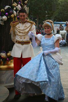 Cinderella and Prince Charming by DisneyLizzi.deviantart.com on @deviantART