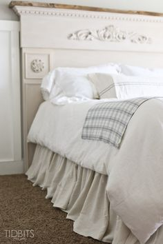 Gathered Bed Skirt m