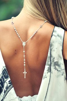 backless jewelry | Keep the Glamour | BeStayBeautiful