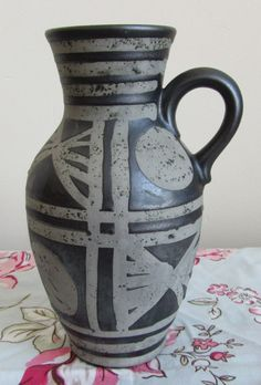 CARSTENS Ankara Krug Fat Lava West deutschen Keramik