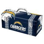 Team ProMark 7.2 in. San Diego Chargers NFL Tool Box, Multi-Color