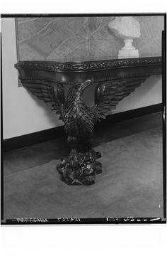 Mesa de pie Vintage (1830–50) [Caoba, EE.UU, Madera]