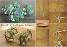 Diy Projects: DIY Make Paper Ornament Balls