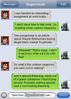 Texts From Superheroes Batman Funny Funny Batman Meme - Batman Funny - Ideas of Batman Funny - Texts From Superheroes Batman Funny Funny Batman Meme Texts From Superheroes Batman Meme, Batman And Superman, Batman Facts, Funny Superman, Spiderman, Geeks, Superhero Texts, Superhero Movies, Marvel Dc Comics