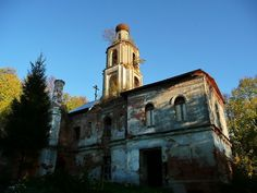 God-forsaken: Abandoned churches and cathedrals of Russia - 33 / Church of the Saviour, 1772-1777. The village of Ilyinskoye-Tolbuzino, Moscow Oblast