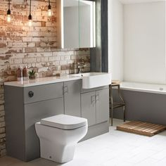 The Muse fitted furniture range, with its slab doors and smooth surfaces is designed to suit any bathroom Fitted Bathroom Furniture, Grey Furniture, Bathroom Interior, Grey Bathrooms, White Bathroom, Small Bathroom, Bathroom Ideas, Bathroom Designs, Funny Bathroom
