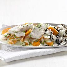 Karotten-Seelachs-Pfanne