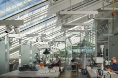 Gallery of Harvard Art Museums Renovation and Expansion / Renzo Piano + Payette - 4 修复空间,玻璃盒子