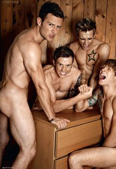 McFly why do you have no clothing on!?