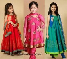 Wedding fashion for kids – A Guide Golden Lehnga, Western Dresses, Half Saree, Wedding Styles, Sarees, Kids Fashion, That Look, Cute, Kawaii
