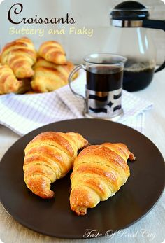 Taste of Pearl City: Buttery Flaky Croissants With Step by Step Pictures