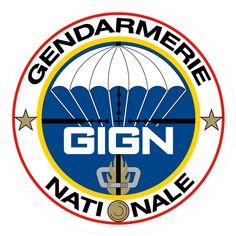Tank you! GIGN groupe d'intervention de la gendarmerie nationale - Héraldique de l'insigne