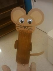 toilet roll mouse